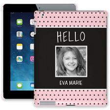 Retro Dots iPad 2/3/4 ColorStrong Slim-Pro Case