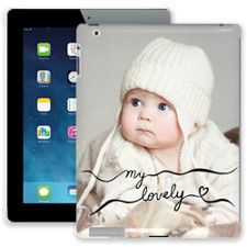 Lovely Chocolate Swirls iPad 2/3/4 ColorStrong Slim-Pro Case