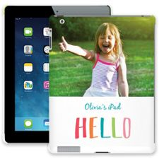 Crayon Hello iPad 2/3/4 ColorStrong Slim-Pro Case