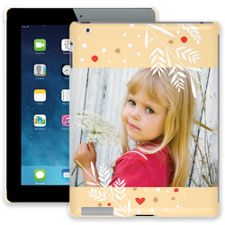 Honey Wheat Heart iPad 2/3/4 ColorStrong Slim-Pro Case