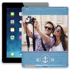 Blue Nautical iPad 2/3/4 ColorStrong Slim-Pro Case