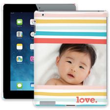 Wavy Stripes iPad 2/3/4 ColorStrong Slim-Pro Case