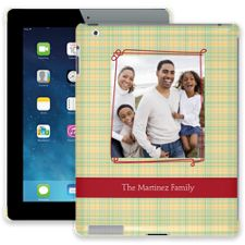 Retro Plaid iPad 2/3/4 ColorStrong Slim-Pro Case