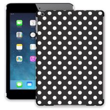 White Polka Dot on Black iPad Air ColorStrong Slim-Pro Case