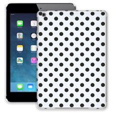 Black Polka Dot on White iPad Air ColorStrong Slim-Pro Case