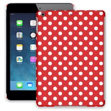 White Polka Dot on Red iPad Air ColorStrong Slim-Pro Case