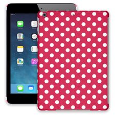 White Polka Dot on Berry iPad Air ColorStrong Slim-Pro Case