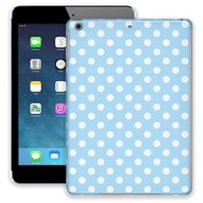 White Polka Dot on Baby Blue iPad Air ColorStrong Slim-Pro Case