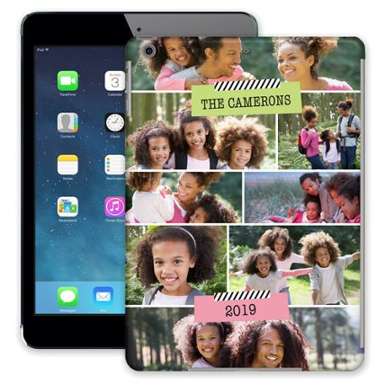 Scrapbook Tape iPad Air ColorStrong Slim-Pro Case