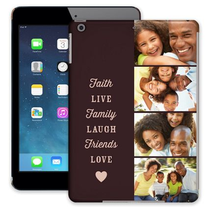 Chocolate Live Laugh Love iPad Air ColorStrong Slim-Pro Case