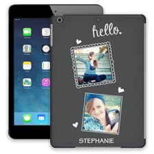 Chalk Portraits Duo iPad Air ColorStrong Slim-Pro Case
