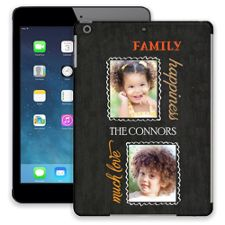Family Portrait Duo iPad Air ColorStrong Slim-Pro Case