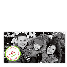Circle Greetings Holiday Photo Cards
