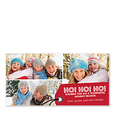 Greetings Tag Christmas Photo Cards