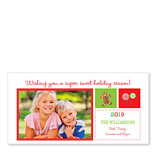 Sweet Holiday Photo Cards