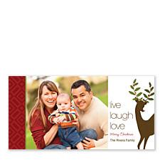 Live Laugh Love Horizontal Photo Cards