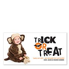 Batty Halloween Photo Cards