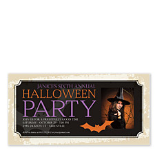 Frightfully Good Halloween Party Invitations