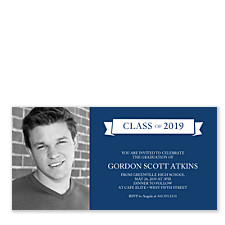 Triple Talented Photo Graduation Party Invitations