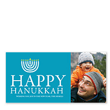 Wishing You Joy Hanukkah Cards