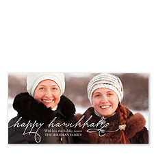Family Togetherness Photo Hanukkah Cards
