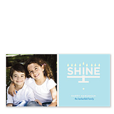 Live Your Dream Hanukkah Photo Cards