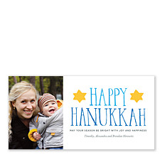 Joy and Happiness Hanukkah Cards