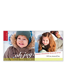 Oh! The Joy of Christmastime Photo Cards