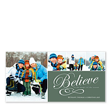 Embrace the Magic Photo Christmas Cards
