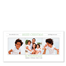 Best Wishes Photo Holiday Cards