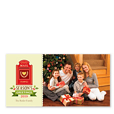 Holiday Mail Box Christmas Photo Cards