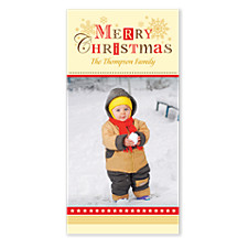 Good Times Christmas Photo Cards