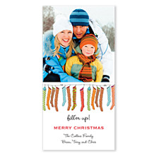 Fill 'er Up Christmas Photo Cards