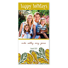 Vacation Christmas Photo Cards