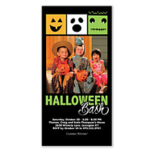 Halloween Bash Halloween Party Invitations