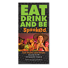 Spooked Halloween Photo Invitation Cards