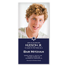 Hudson Bar Mitzvah Invitations