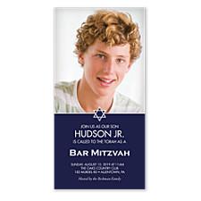 Hudson Bar Mitzvah Invitations