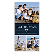 Wishing You a Joyous Holiday Photo Hanukkah Cards
