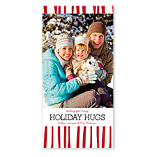 Holiday Hugs Photo Christmas Cards