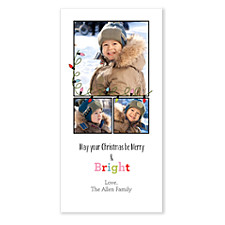 Bright and Merry Photo Christmas Cards