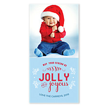 Jolly & Joyous Holiday Photo Cards