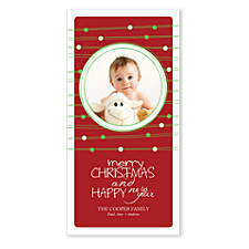 Merriment Christmas Photo Cards