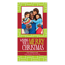 Wishing You a Merry Christmas Photo Cards