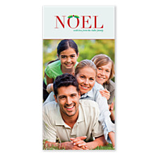 Cheery Noel Christmas Photo Cards