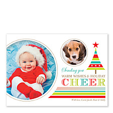 Cheer Photo Christmas Cards