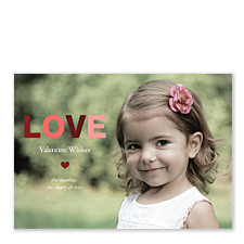 Infatuation Valentine Photo Cards