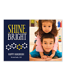 Shine Bright Hanukkah Cards
