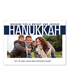 Bright and Joyous Hanukkah Cards