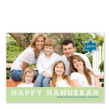 Joy and Love Hanukkah Cards